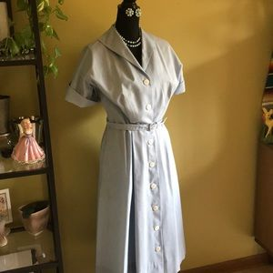 Dresses & Skirts - 💕Vintage 1951 Darmgene house dress💕